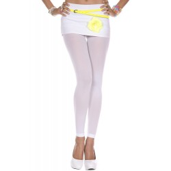 Leggings opaque, couleur white