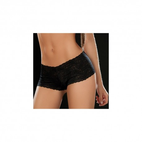 Boyshort dentelle 90 Black
