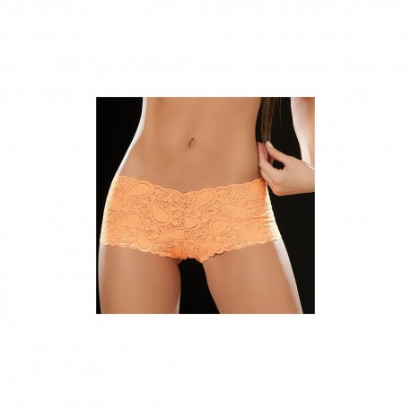 Boyshort dentelle 90 Orange