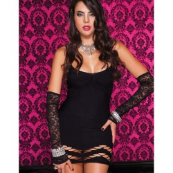Robe sexy decollta