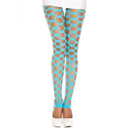 Leggings opaque, avec trous