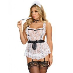 Costume soubrette Maid to Tease