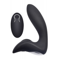 Plug anal vibrant 12 programmes et télecommande USB