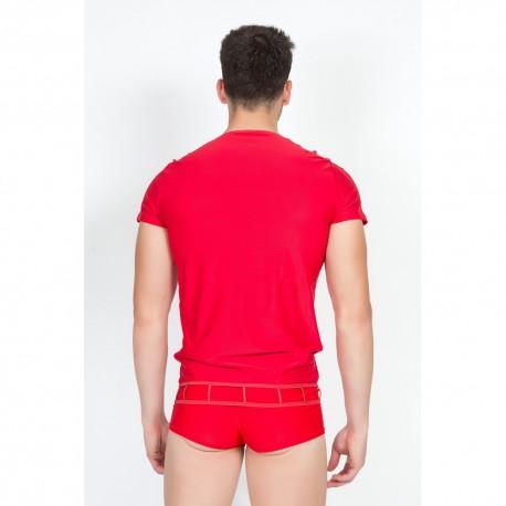 T-Shirt Marker Rouge