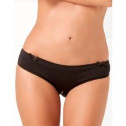 Culotte noire ouverte à l'entre-jambes et sur les fesses