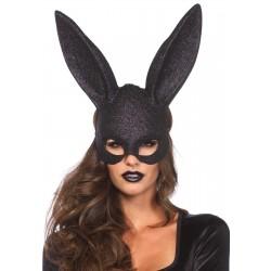 Masque noir Lapin