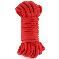 Corde de bondage shibari rouge 10M - CC5700922030
